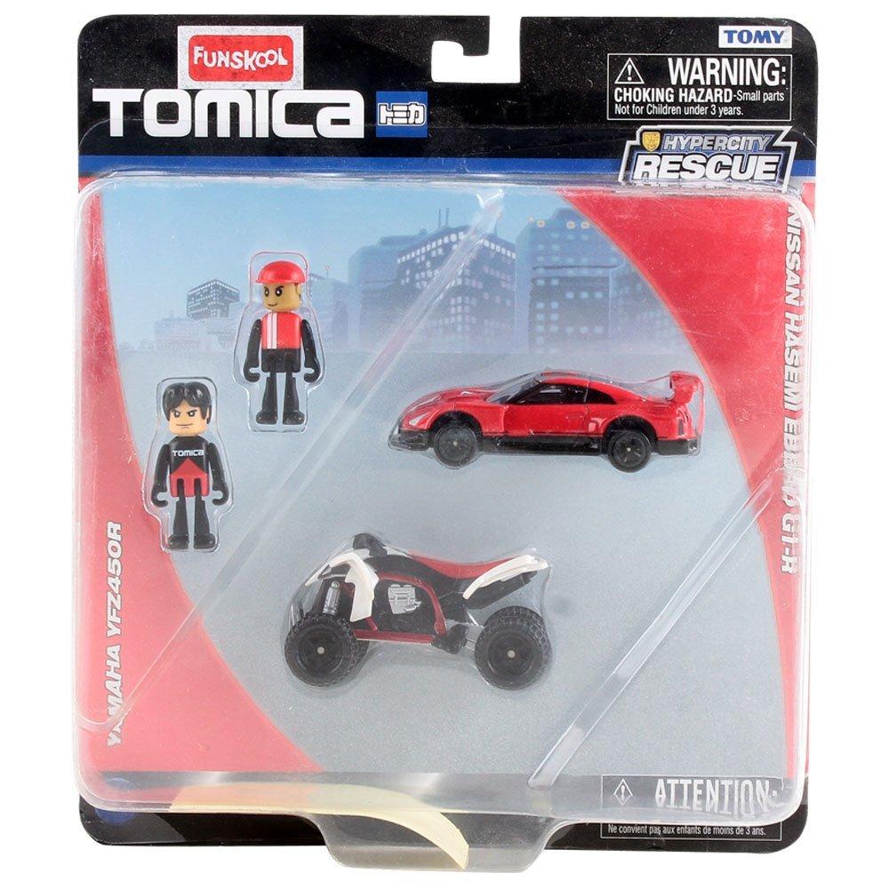 Funskool Tmca Dual Vehicle and Hero Asst