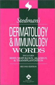 Stedmans Dermatology & Immunology Words