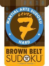 Martial Arts Sudoku Level 7 Hard : Brown Belt Sudoku