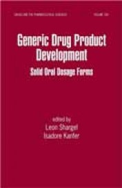 Generic Drug Product Development Solid Oral Dosage Forms