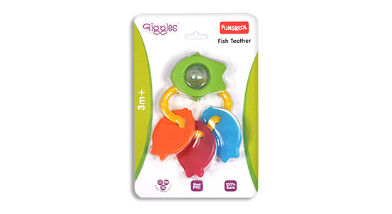 Funskool Fish Teether Rattle