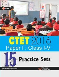 CTET Paper I 15 Practice Sets (Class I-V) (English) 2016