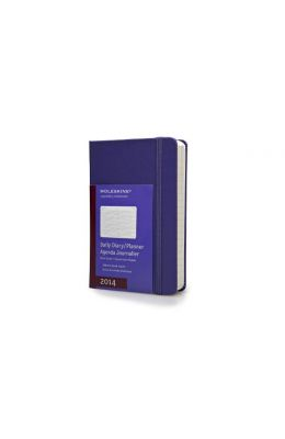 Moleskine 2014 Daily Planner, 12 Month, Pocket, Brilliant Violet, Hard Cover (3.5 X 5.5)