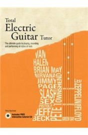 Total Electric Guitar Tutor W/Cd