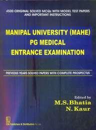 Manipal University Mahe Pg Medical Entrance Exam