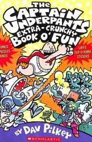 Captain Underpants Extra Crunchy Book O Fun - 3543