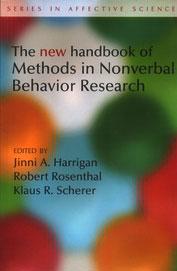 New Handbook Of Methods In Nonverbal Behavior Research
