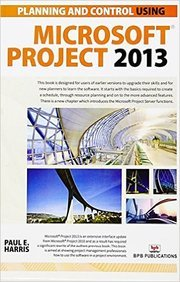 Planning & Control Using Microsoft Project 2013