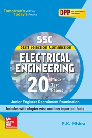 SSC Electrical Engineering 20 Mock Test Papers