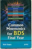 Common Mnemonics For Bds Final Year