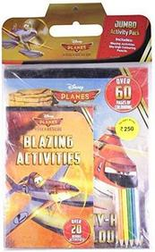 Disney Planes Fire And Rescue Header Jumbo Activity Pack