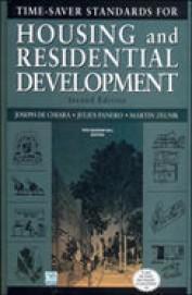 Time Saver Standards For Housing & Residential Development