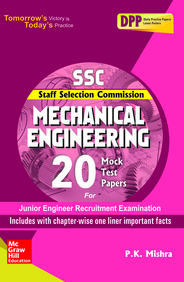 SSC Mechanical Engineering 20 Mock Test Papers