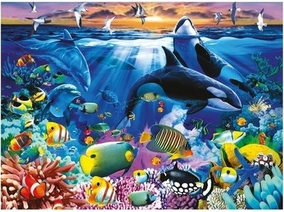 Ravensburger 200 Pcs Oceanic Life