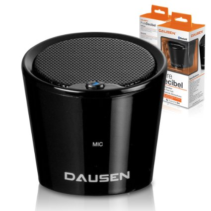 Dausen Pure Decibel Bluetooth Speaker - Black
