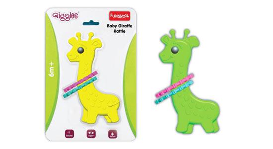 Funskool Baby Giraffe Rattle