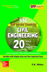 SSC Civil Engineering 20 Mock Test Papers