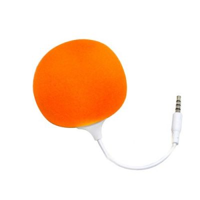 Portronics Music Bubble Portable Speaker (Orange)