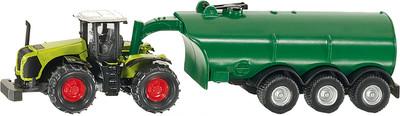 Siku claas xerion with vacuum tanker