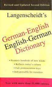 Langenscheidts German - English / English - German Dictionary