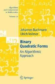 Binary Quadratic Forms: An Algorithmic Approach