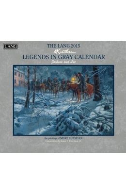 The Lang Legends in Gray Calendar: Jackson and Lee