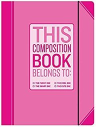 Knock Knock The Funny One Composition Notebook