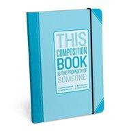 Knock Knock Hyper-Organized Composition Notebook