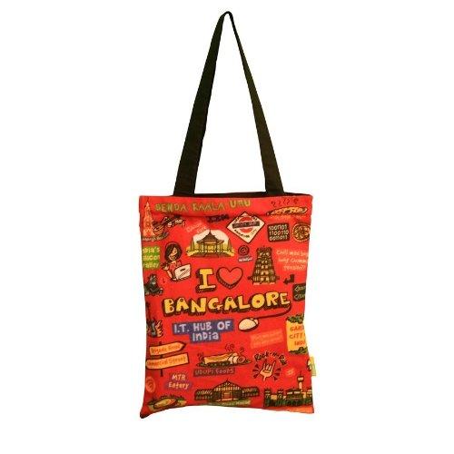 Eco Corner Big Coloured Bangalore Cotton Bag