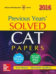 Cat Solved Papers 2016
