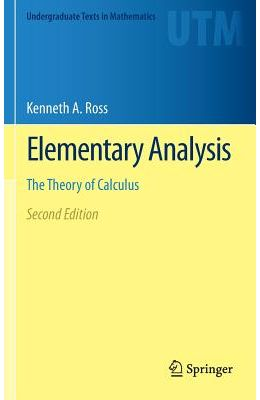 Elementary Analysis: The Theory of Calculus