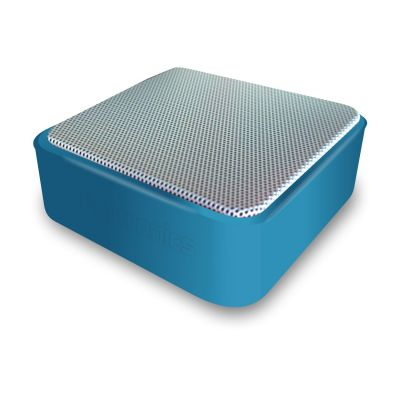 Portronics Cubix Portable Wired Speaker (Blue)