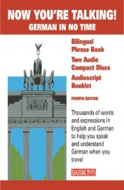 Now You're Talking German In No Time - Phrase Bookw/cd