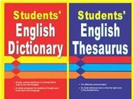 Students Complete Companion Set Of Books: Students English Dictionary/Students English Thesaurus