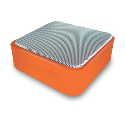 Portronics Cubix Portable Wired Speaker (Orange)