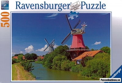 Ravensburger 500 Pcs Romantic Windmills