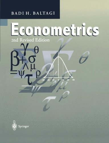 Econometrics,2nd Rev.ed