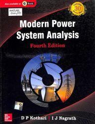 Modern Power System Analysis 4 Edition price comparison at Flipkart, Amazon, Crossword, Uread, Bookadda, Landmark, Homeshop18