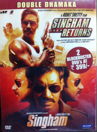 Singham / Singham Returns (2 in 1)