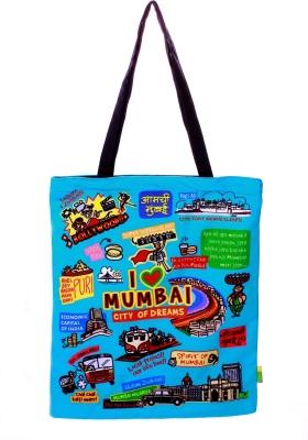 Eco Corner Big Coloured Mumbai Cotton Bag