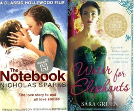 Valentine's Day Pack: The Notebook & Water for Elephants