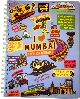 Eco Corner Mumbai Ruled Exercise Book