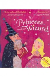 Princess & The Wizard With Glitter On Every Page