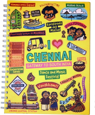 Eco Corner Chennai Ruled Exercise Book