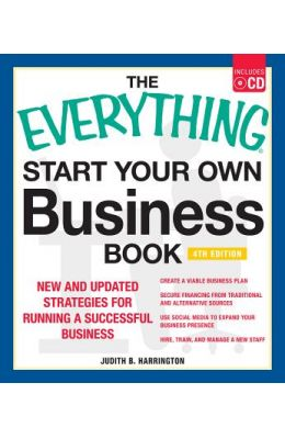 Everything Start Your Own Business Book W/Cd