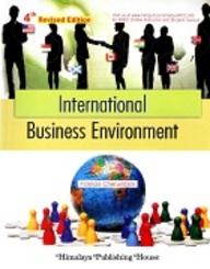 International Business Environment price comparison at Flipkart, Amazon, Crossword, Uread, Bookadda, Landmark, Homeshop18