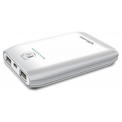 Portronics Portable Power Box - 10000 mAh Power Bank(White)