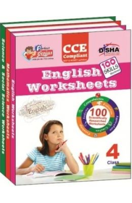 Perfect Genius English Mathematics Science & Social Science Worksheets For Class 4