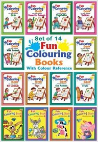 Vegetables : Fun Coloring Book With Colour        Reference