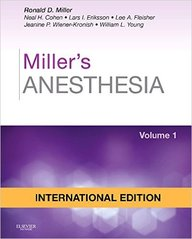 Millers Anesthesia Set Of 2 Vol